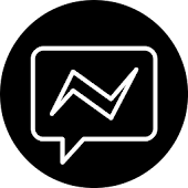 Black Messenger icon