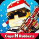 ピクセル シューティング: Cops N Robbers (FPS)
