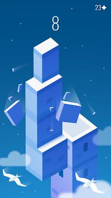 Stack the Cubes: ブロックから最高のタワーを構築のおすすめ画像1