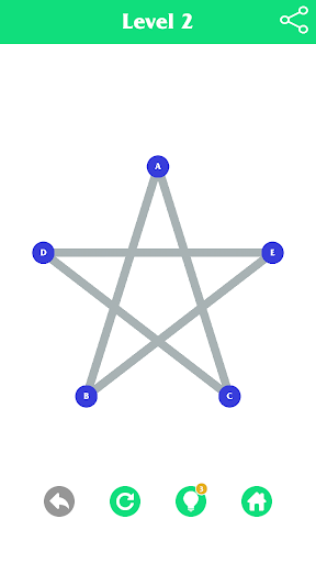 1Line - single-line puzzle game 1.4 screenshots 2