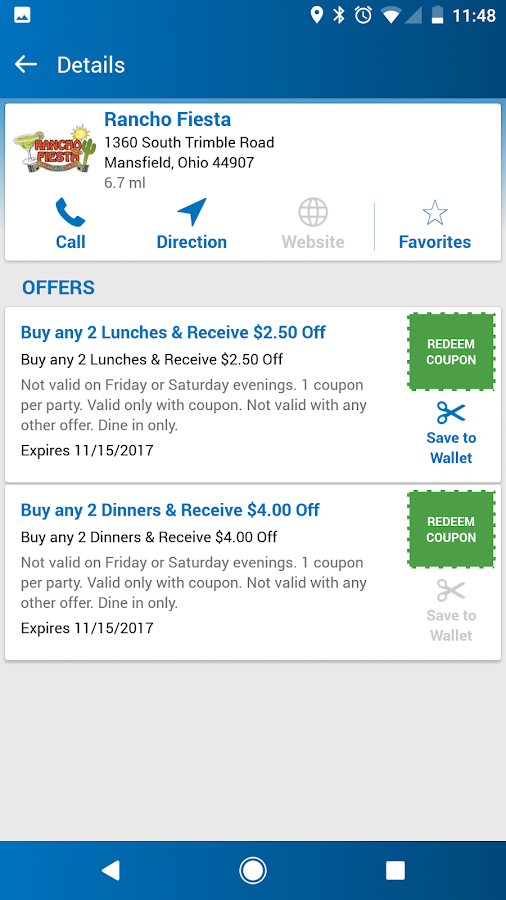 Town Money Saver- screenshot