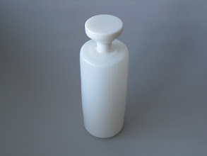 Photo: White decanter. Murano?