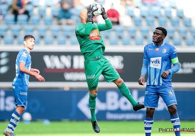 Pas de Sinan Bolat en Europa League avec La Gantoise