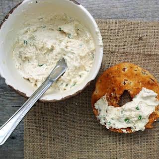 Cashew Cream Cheese With Chives [vegan].
