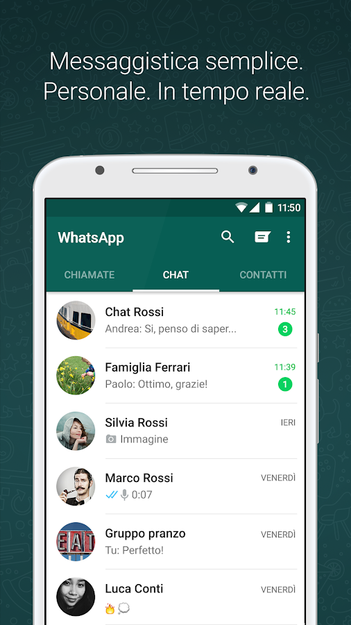 WhatsApp Messenger- screenshot