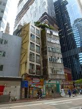 Photo: The building on Queen's Road East in Wanchai in disrepair