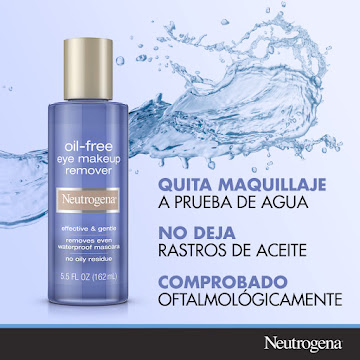 Aceite NEUTROGENA free   eye makeup remover waterproof x162ml