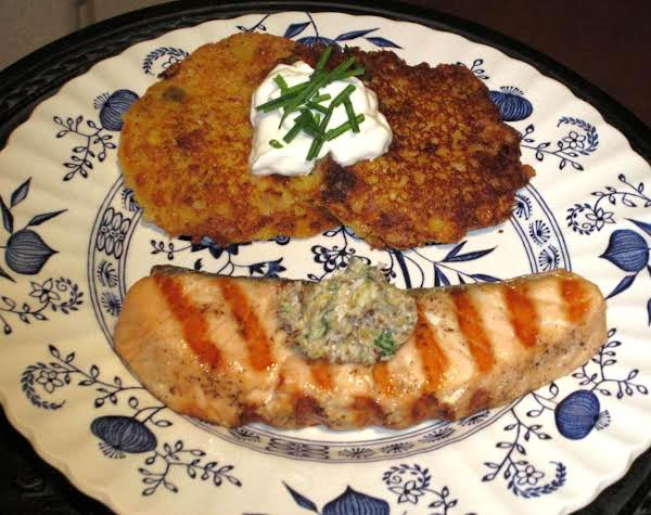 Grilled Salmon With Pecan Butter Recipe