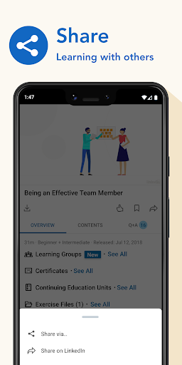 LinkedIn Learning screenshot 6