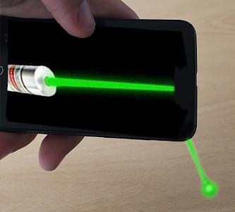 Simulator laser pointer screenshot 3