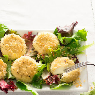 Baked ChèVre with Herbes De Provence Breadcrumbs Recipe