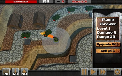 War Generals - Tower Defender Screenshot