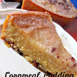 Jamaican Cornmeal Pudding.