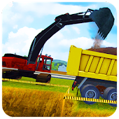 Heavy Excavator : Crane Simulator City Builder 3D