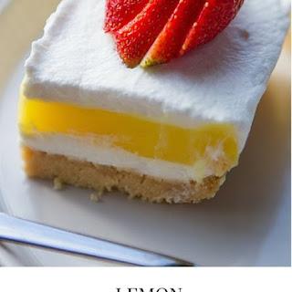 Lemon Dessert Lasagna