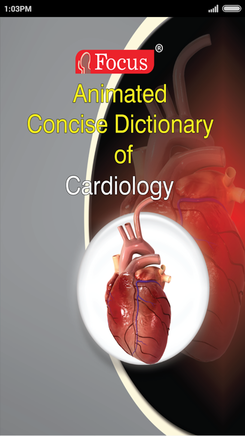 Cardiology-Animated Dictionary- screenshot