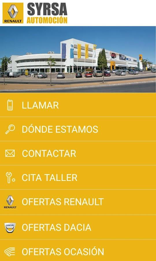 Renault Syrsa Automoción- screenshot
