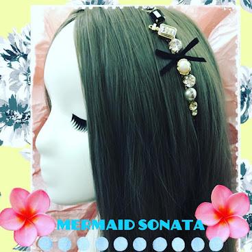 金色香水瓶珍珠hairband #assessories #hairband $89 (包本地平郵)