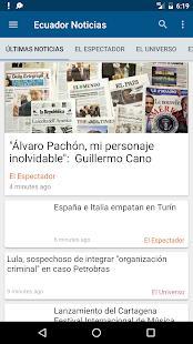 Ecuador Noticias - náhled
