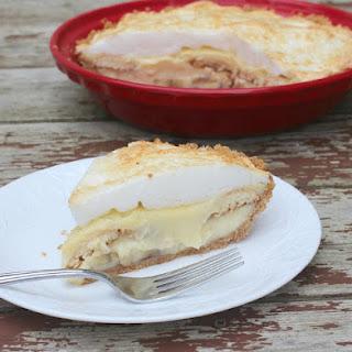 Banana Pudding Pie #BookClubCookBookCC