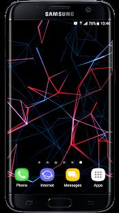 [Neon Particles 3D Live Wallpaper] Screenshot 1