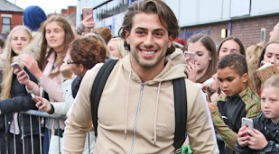 Kem Cetinay throws 'tantrums' during his 'Dancing On Ice' training