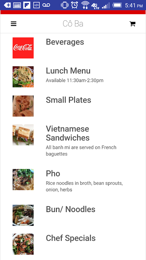 Cô Ba Vietnamese Kitchen- screenshot