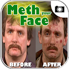 Meth your Face: Crystal Camera icon