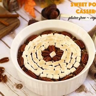Sweet Potato Casserole {Gluten-Free, Vegan, Paleo}