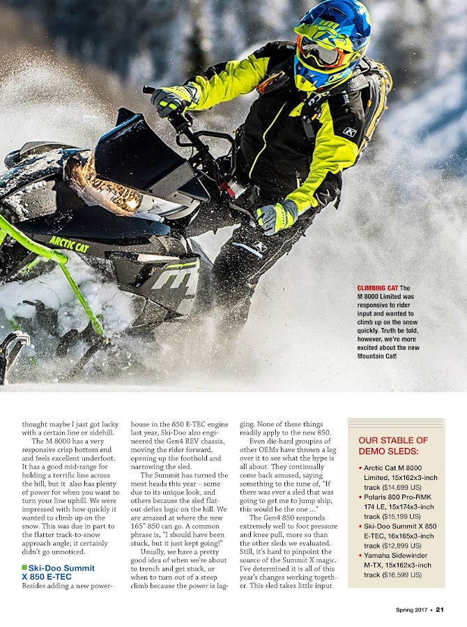 American Snowmobiler- screenshot