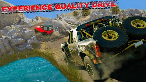 Télécharger gratuit Offroad Jeep Driving & Racing cascades APK MOD 1