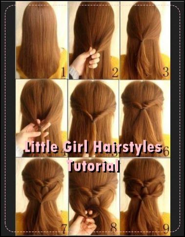100+リトルガール髪型