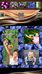 Plum Photo Collage Maker - náhled