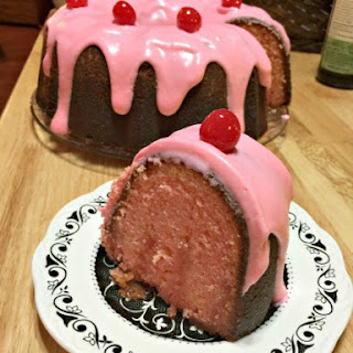 Cherry Lemonade Bundt Cake