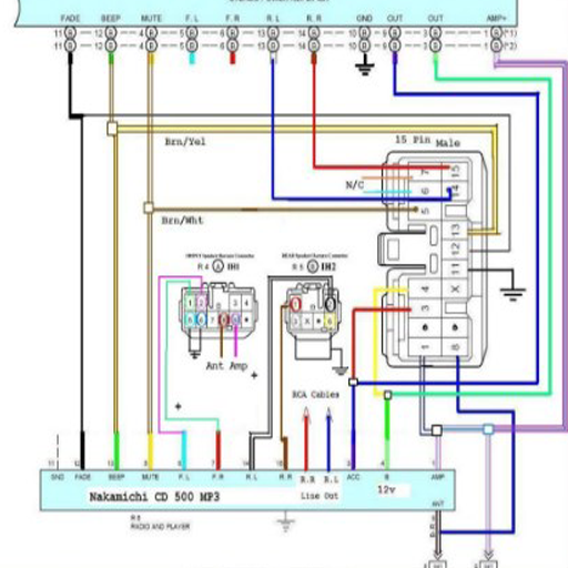 download car audio wiring diagram free for android  car