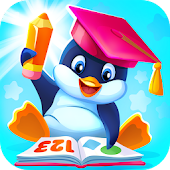 Preschool educational games for kids with Pengui