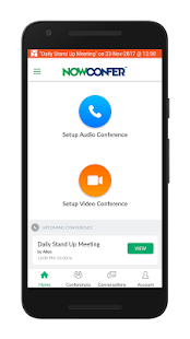 NowConfer - Conference Calls- screenshot thumbnail