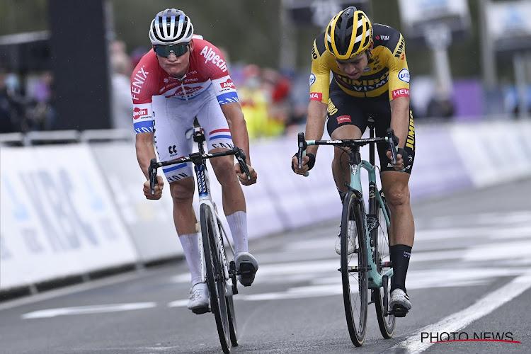 Fans kiezen duel tussen Wout van Aert en Mathieu van der Poel als favoriete finale in 10 jaar Ronde van Vlaanderen
