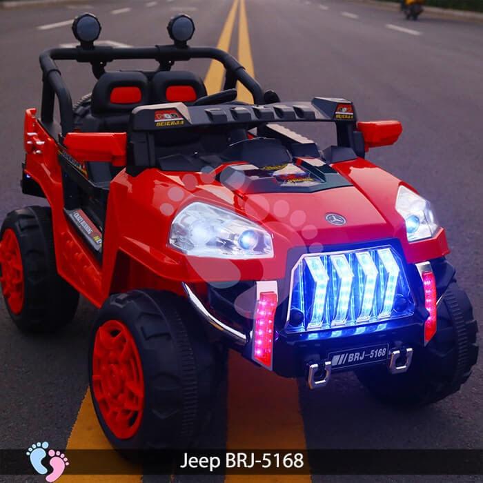 Xe oto điện cho bé Jeep BRJ-5168 4