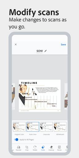 Adobe Scan: PDF Scanner with OCR, PDF Creator 20.09.02-regular screenshots 6