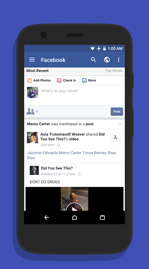 Folio for Facebook- screenshot