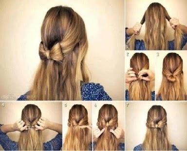 Hairstyles Step By 2018 Screenshot Thumbnail
