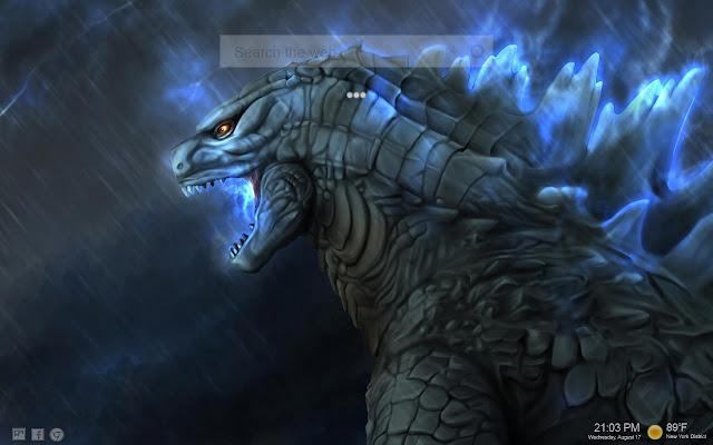 Godzilla Wallpaper HD Custom New Tab