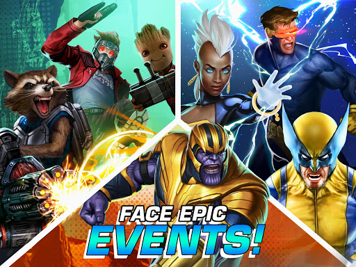 MARVEL Puzzle Quest: Join the Super Hero Battle! 204.531444 screenshots 13