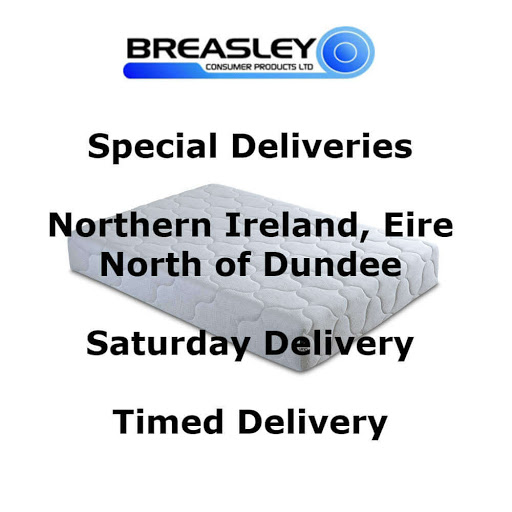 Breasley Delivery Surcharges to Eire, NI & More