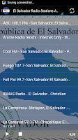 Screenshot of El Salvador Radio Stations