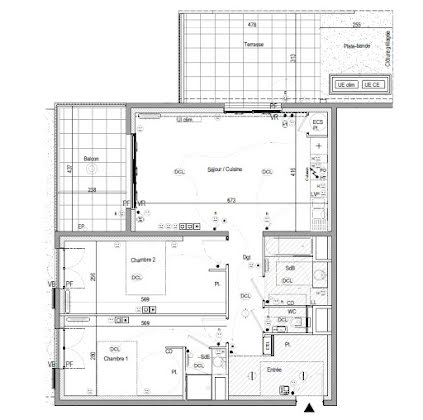Vente appartement 3 pièces 75,85 m2