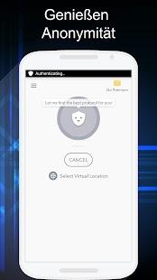 Betternet Kostenlose VPN Proxy & Wi-Fi Sicherheit Screenshot