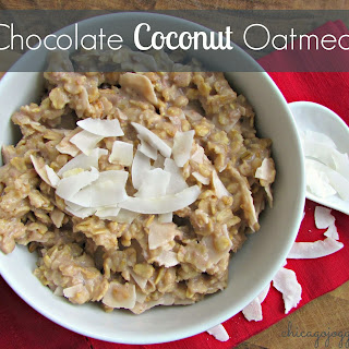 Chocolate Coconut Oatmeal