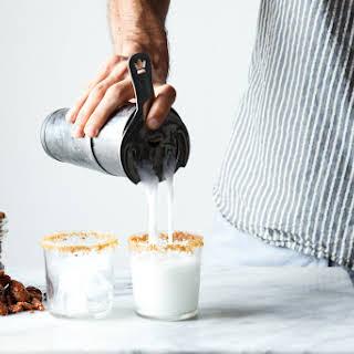 Coconut Milk Rum Punch.
